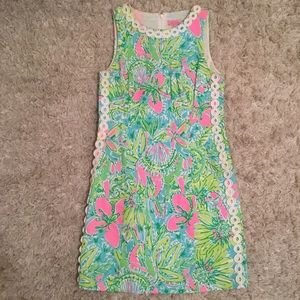 Lilly Pulitzer Shift Dress with Tropical Print